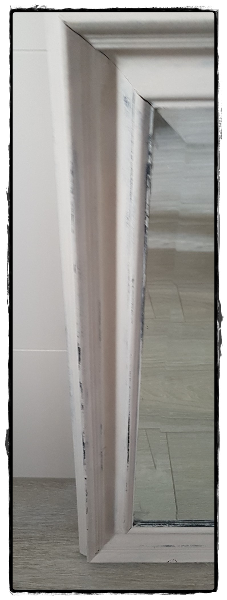 Spiegel vierkant wit7