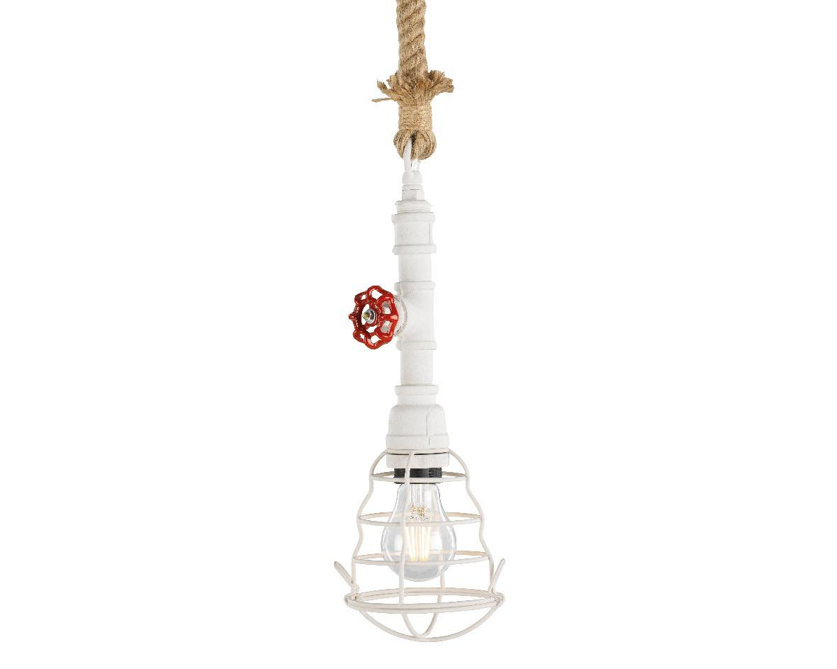 Lamp brandweer wit